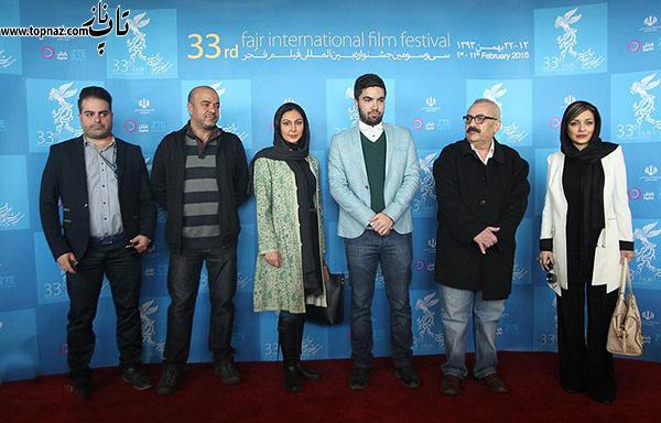 بازیگران فیلم خداحافظی طولانی در جشنواره فیلم فجر