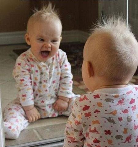 تصاویر بامزه نوزادان