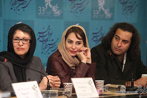 عکس های بازیگران فیلم خانه دختر در جشنواره فیلم فجر