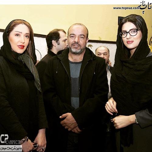 سارا منجزی و هلیا امامی