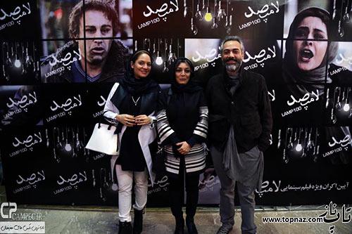 ساره بیات در مراسم اکران فیلم