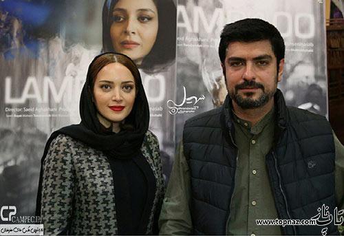 بهنوش طباطبایی و مهدی پاکدل همسرش