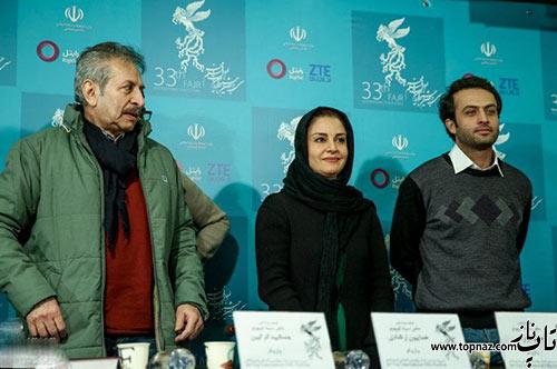 عکس های مصطفی زمانی و مریلا زارعی در جشنواره فجر