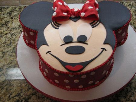 مدل کیک تولد عروسکی میکی موس