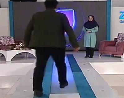 سوتی خنده دار در برنامه مجری ایرانی مبینا نصیری