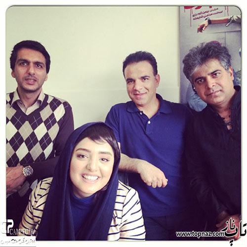 عکس هار نرگس محمدی