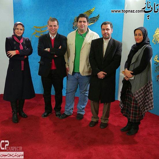 عکس نیلوفر امینی فر در جشنواره فیلم فجر