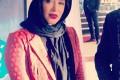 عکس های سارا منجزی در جشنواره فیلم فجر