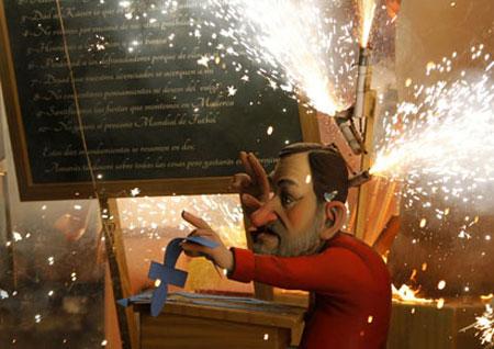 چهارشنبهسوری اسپانیایی, آداب و رسوم مردم اسپانیا