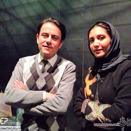عکس نیکی مظفری و رحیم نوروزی