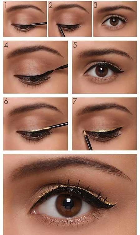 مدل آرایش چشم زیبا و جذاب