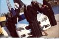 عکس زنان داعشی کنار خودروی گران قیمت!