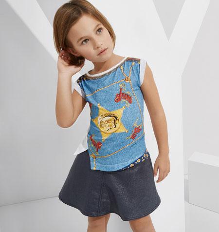 لباس کودکانه 12 کلکسیون مدل لباس کودکانه ورساچه بهار 2015