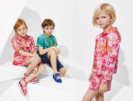 لباس کودکانه 17 کلکسیون مدل لباس کودکانه ورساچه بهار 2015
