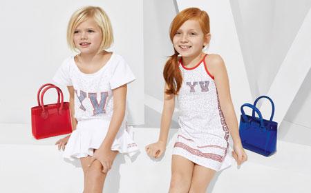 لباس کودکانه 20 کلکسیون مدل لباس کودکانه ورساچه بهار 2015