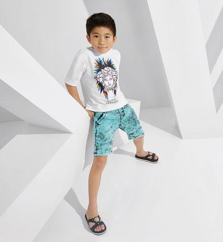 لباس کودکانه 21 کلکسیون مدل لباس کودکانه ورساچه بهار 2015