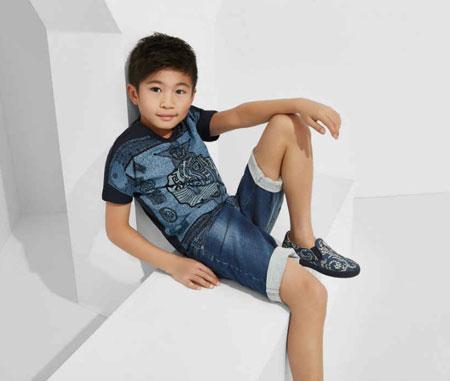 لباس کودکانه 5 کلکسیون مدل لباس کودکانه ورساچه بهار 2015