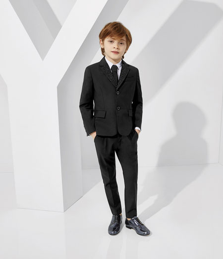 لباس کودکانه 8 کلکسیون مدل لباس کودکانه ورساچه بهار 2015