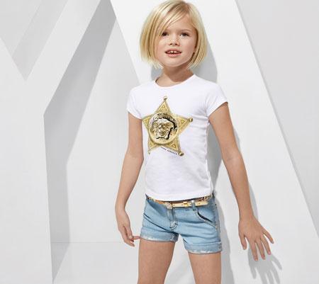 لباس کودکانه 9 کلکسیون مدل لباس کودکانه ورساچه بهار 2015