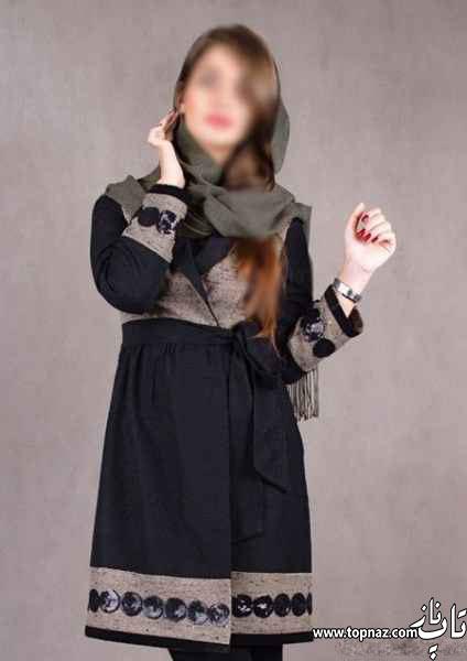 مدل مانتو مشکی مدل مانتو گلدار مدل مانتو سفید فشن 2015