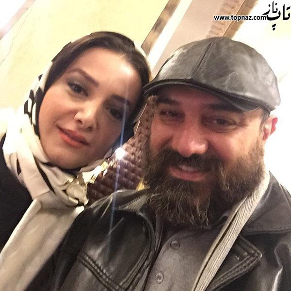 عکس بازیگران ایرانی و همسرانشان جدید