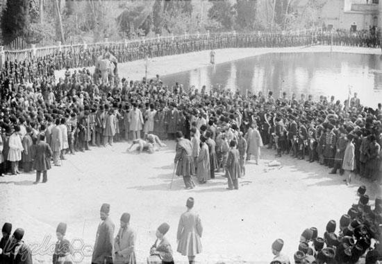 تصاویری نادر و تاریخی از جشن نوروز در زمان ناصرالدین شاه قاجار