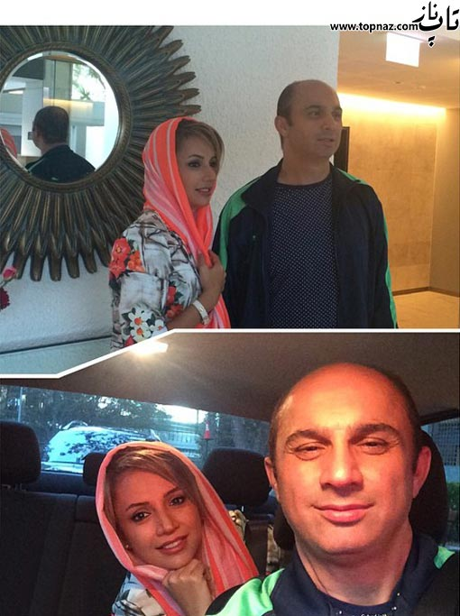 عکسهای جدید از بازیگران و همسرانشان