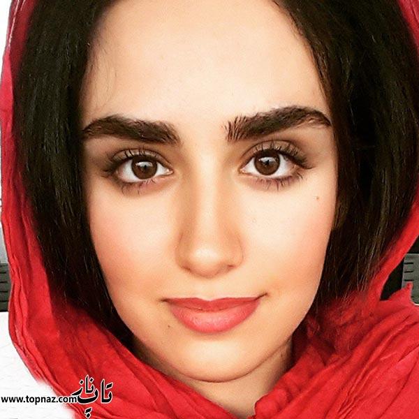 عکس هانیه غلامی دختر لادن سلیمانی