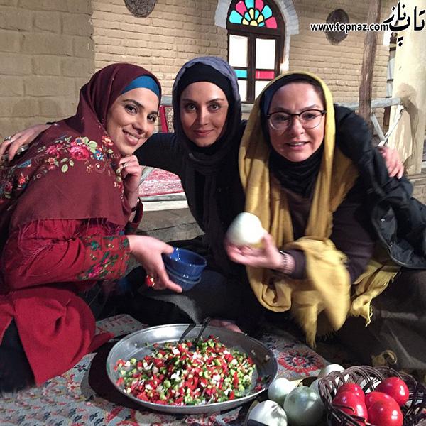 عکس های مریم خدارحمی در کنار دیگر بازیگران