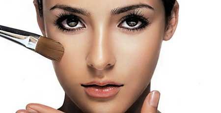 زیبایی بدون آرایش,آرایش چشم, آرایش لب ها