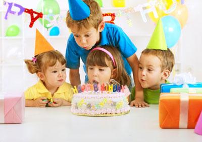 معمای جشن تولد کودکان