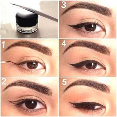 نحوه کشیدن خط چشم و نکات مهم کشیدن خط چشم
