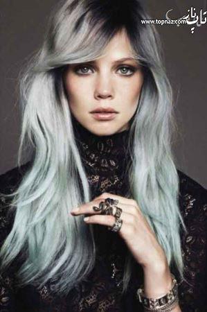 مدل رنگ موی توسی