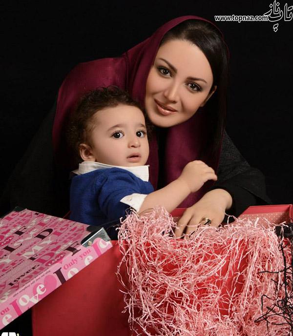 عکس های آتلیه ای ویژه شیلا خداداد و خانواده اش
