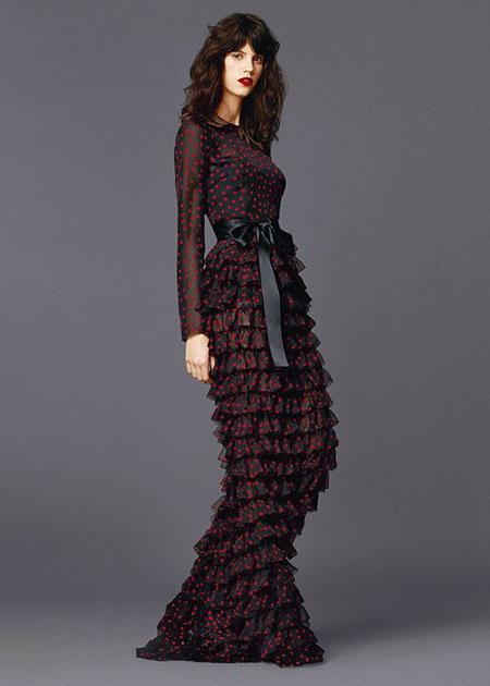 مدل لباس زنانه D&G بهار و تابستان 2015