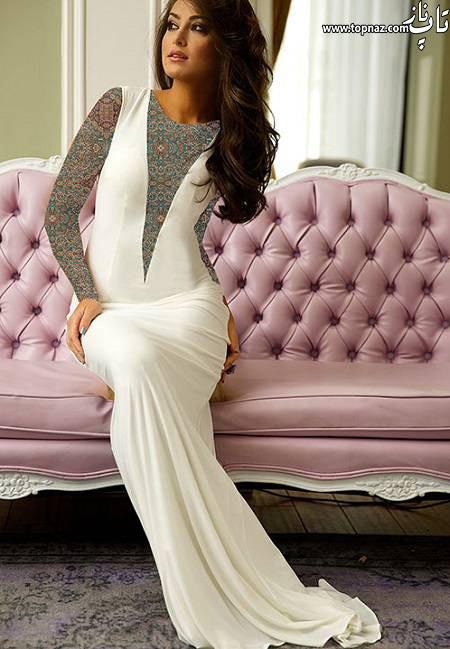 مدل لباس مجلسی خاص بلند و زیبا