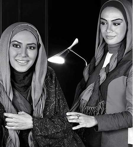 عکس های آتلیه زیبا از خواهران مارال و مونا فرجاد