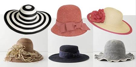 مدل کلاه زنانه تابستانی