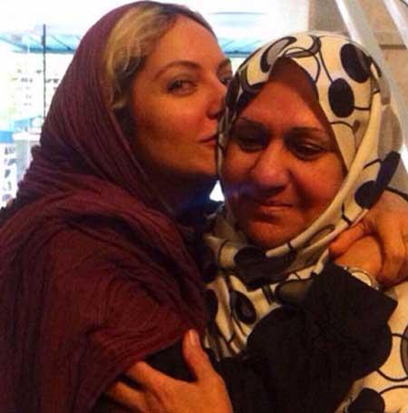 عکس مهناز افشار با مادرش در اینستاگرام