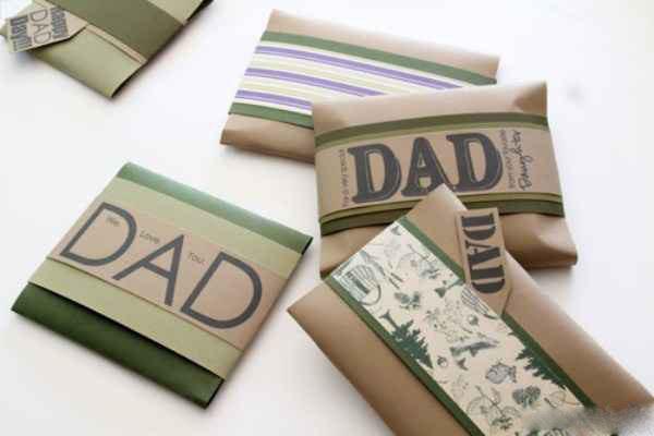 تزیین کادوی روز مرد - تزیین کادوی روز پدر