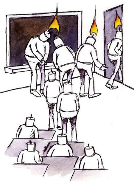 کاریکاتور روز معلم (5)