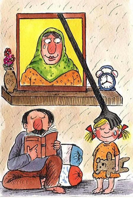 کاریکاتور روز مادر