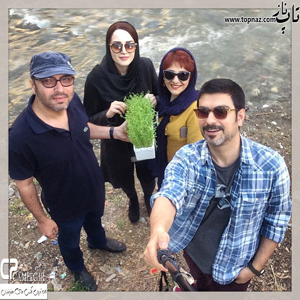 عکس بازیگران ایرانی در روز سیزده بدر