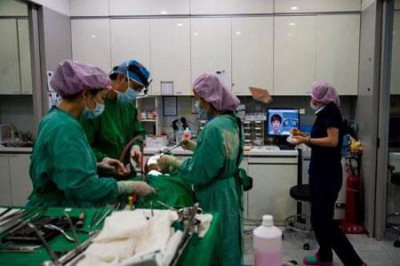 خیابانی برای جراحی های زیبایی