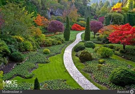 اخبار,اخبار گوناگون,اخبار زیباترین باغ های دنیا