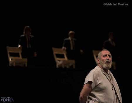 لادن مستوفی و فرهاد آئیش تئاتر