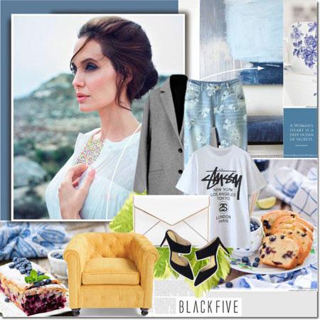 مدل لباس های آنجلینا جولی برای بهار