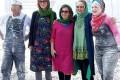 عکس بازیگران زن ایرانی در جزیره