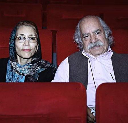 عکس بهزاد فراهانی و همسرش (پدر و مادر گلشیفته)