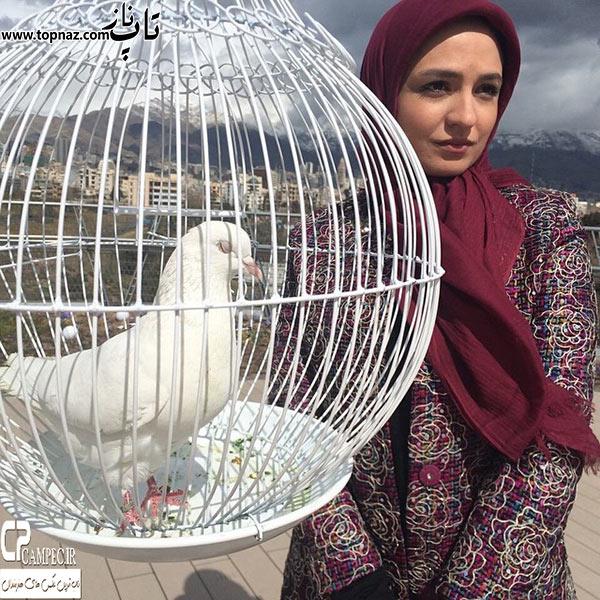 بازیگر زن ایرانی گلاره عباسی